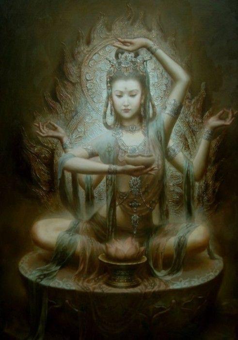 aditi, déesse, inspiration, méditation, inde, art, hippie, vintage, développement personnel, massage, soin énergétique