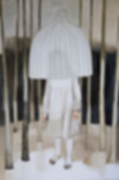 Pia Ingelse I Skydd av ljuset. Olja på duk 180x120 cm