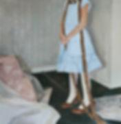 Pia Ingelse. Osorterat. Olja på pannå.54x56 cm. 2013