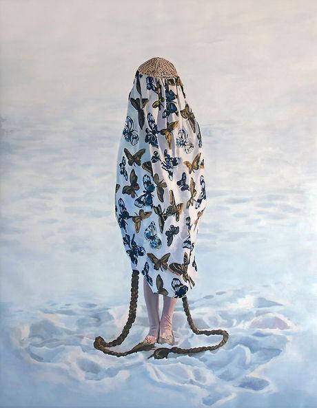 Pia Ingelse Gatekeeper. Olja på duk.110x140cm.2012