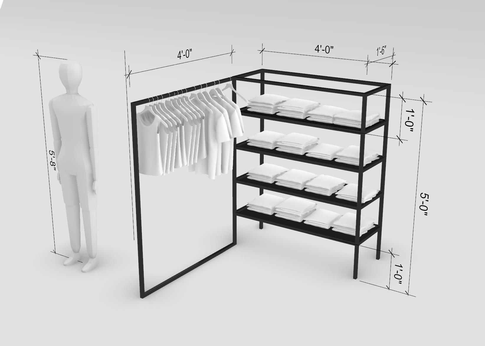 Proper Clothing Rack