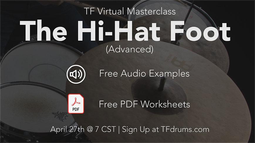 April 27nd The Hi-hat Foot (advanced) .j