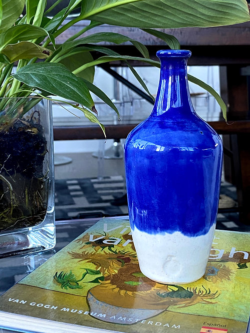 Half Blue Pot/Bottle