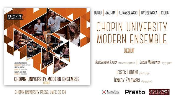 "Jakub Montewka, Marcin Jachim: ""Pióro Maat"". Chopin University Modern Ensemble - Debiut"