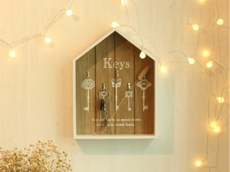 Creatives and decorative ways hanging your keys