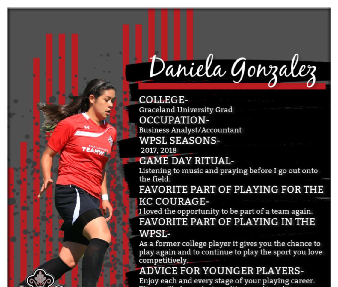 Daniela Gonzalez, WPSL