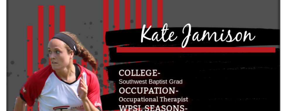 Kate Jamison, KC Soccer, WPSL, KC Courage