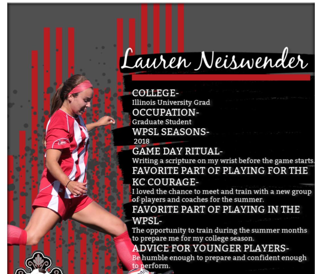 Lauren Ciesla, Ryan Neiswender, Illinois Soccer