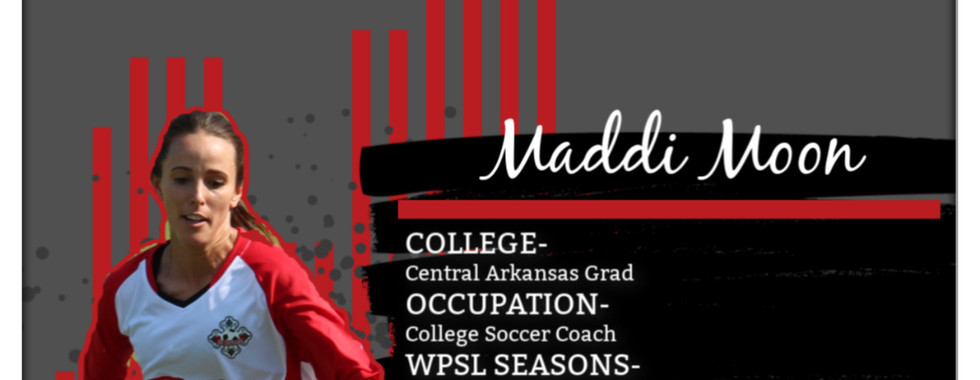 Maddi Moon, UMSL soccer, kc courage, female soccer coach