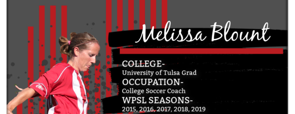 Melissa Blount, WPSL, female soccer coach, KC Courage, JCCC