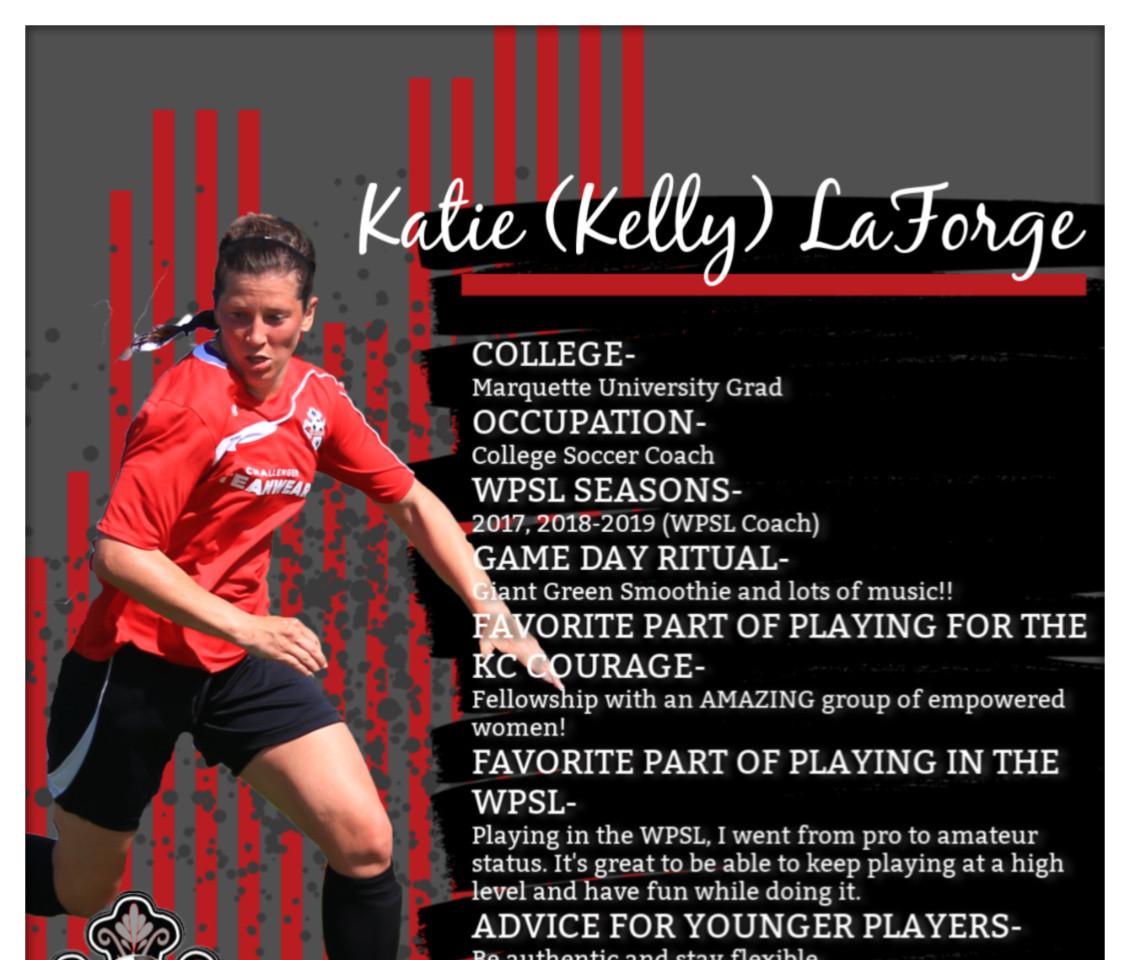 Katie Kelly, Katie LaForge, WPSL
