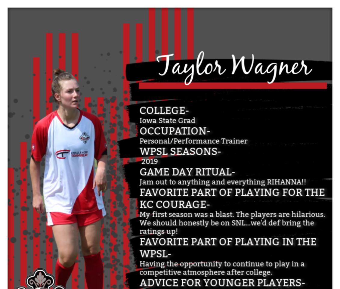 Taylor Wagner, WPSL
