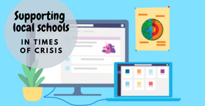 Supporting local schools with remote learning in Times of Crisis