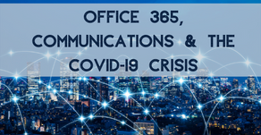 Using Office 365 to connect comms experts and organisations in need, during the COVID-19 Crisis