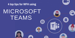 Our 4 top tips for working from home using Microsoft Teams