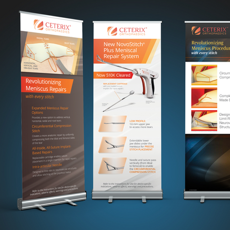 Ceterix Orthopaedics Roll-up Banners