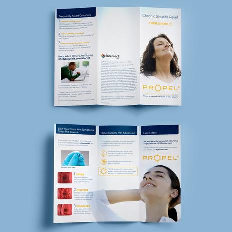 Intersect ENT Tri-fold Brochure