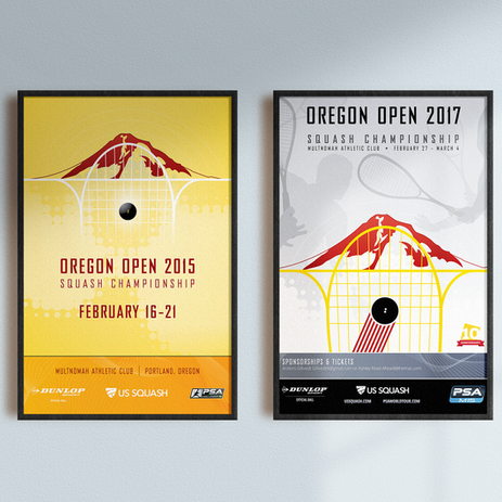 Oregon Open Posters
