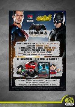 Flyer Batman V Superman 01