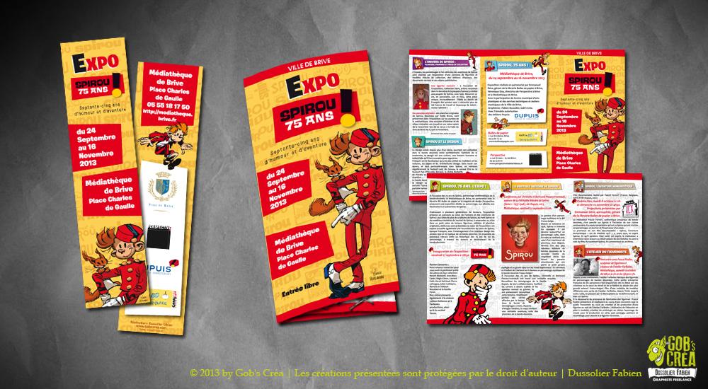 Marque page et Brochure