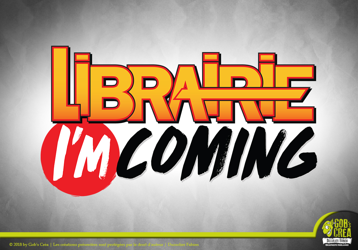 Logo Librairie i'm coming