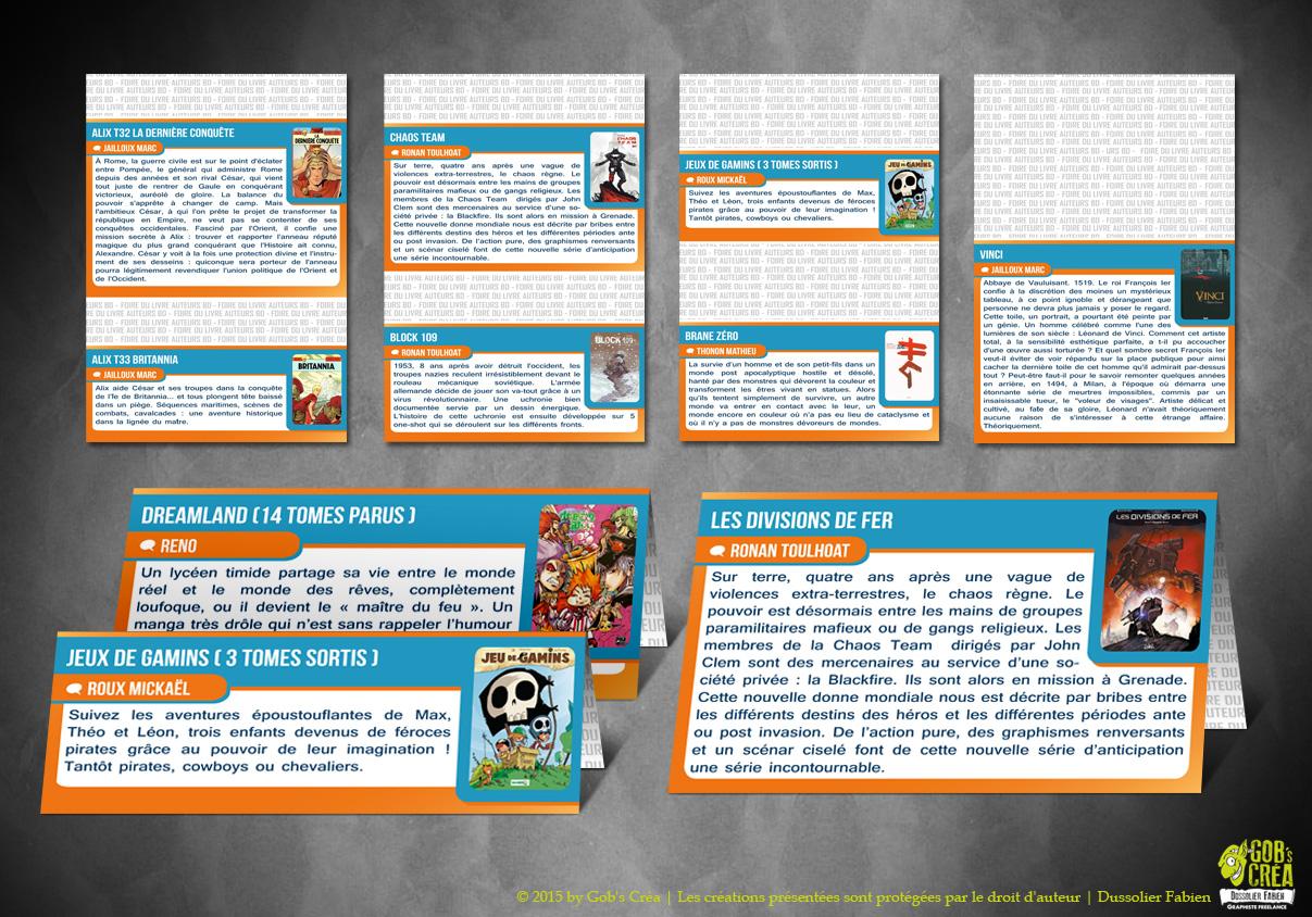 Cartels Foire du livre Brive 2014