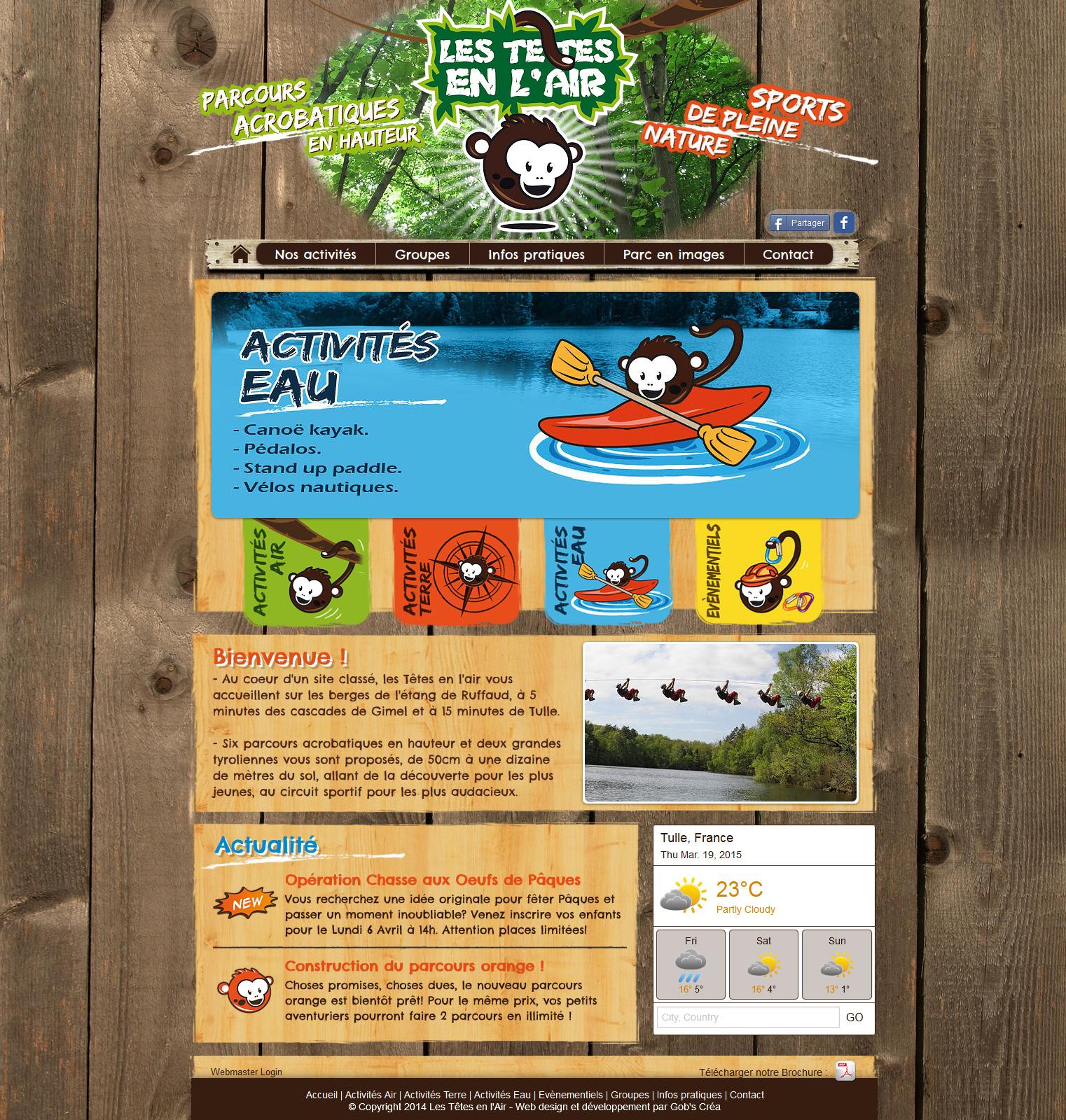 Site Web Les têtes en l'air