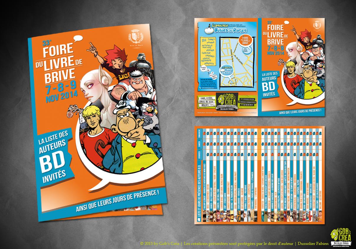Brochure Foire du livre Brive 2014