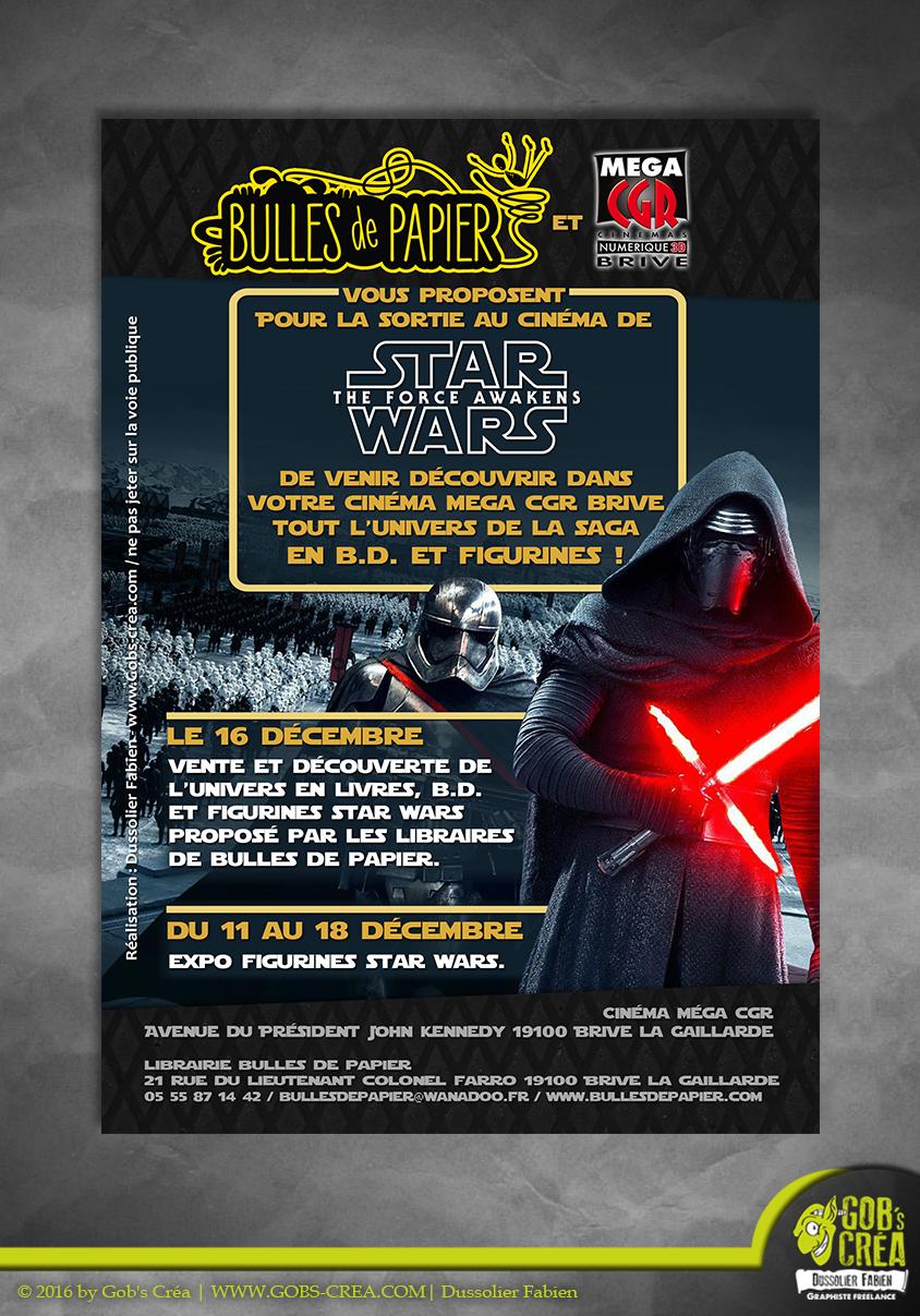 Flyer Star Wars 7