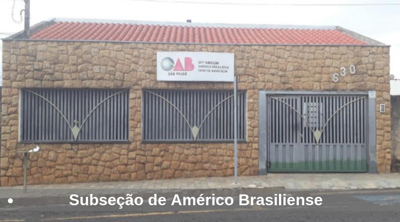 Subseção - Américo Brasiliense
