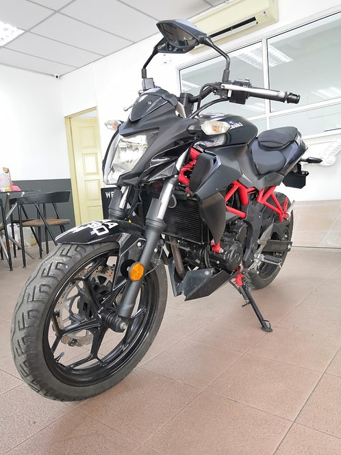 Kawasaki Z250SL 2014 (Red Flame)