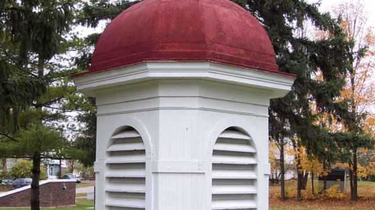 Cupola from the school building, displayed at James Couzens Memorial Park