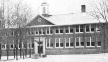 Bath Consolidated School before the bombing