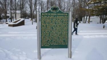 Michigan state historic site marker