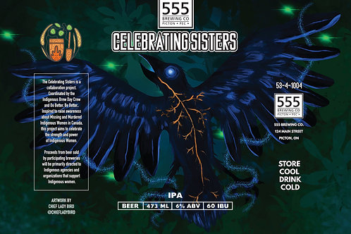 Celebrating Sisters IPA 473ml can