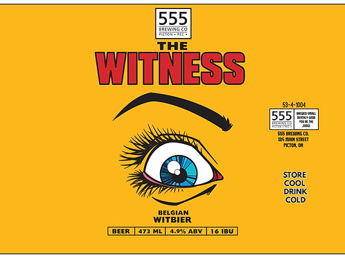 The Witness Belgian Wit 473ml can