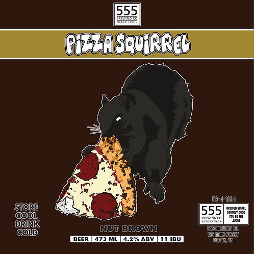 Pizza Squirrel Nut Brown Ale