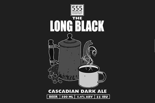 Long Black Cascadian Dark Ale 473ml can