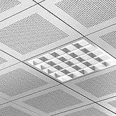Delikli saç lay on asma tavan