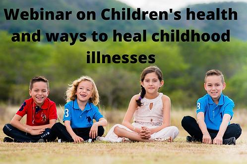 Children's health and healing childhood diseases