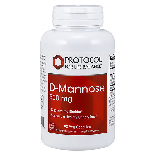 Protocol for Life Balance D-Mannose 500mg