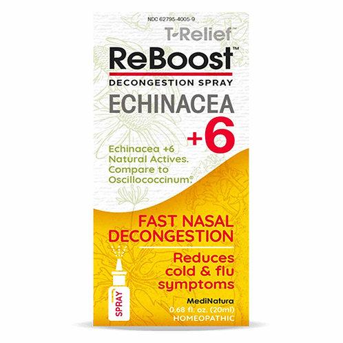 MediNatura ReBoost Nasal Spray Echinacea +6 Decongestion