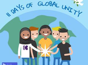 Celebrating 11 Days of Global Unity