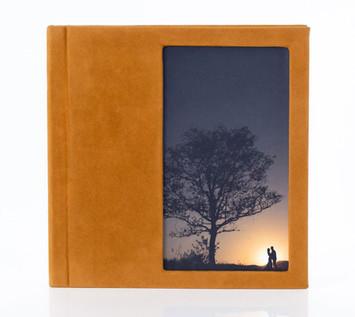 Álbum com janela fotográfica