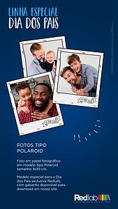 Polaroid - Linha Especial Dia dos Pais