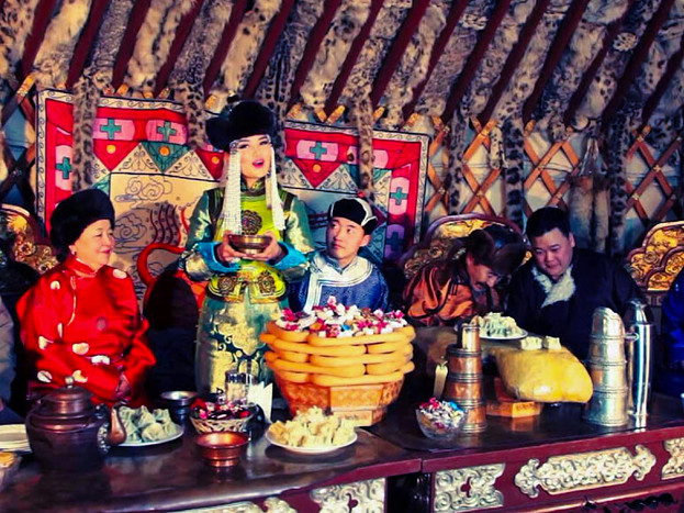 Tsagaan sar singing