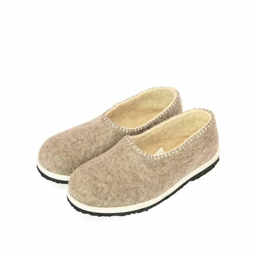 ffdde98ba17ef Felt slippers home shoes handmade slippers boiled wool slippers