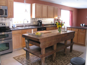 Modern Day Kitchen Island!