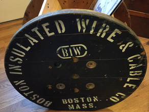 Industrial Wire and Cable Spool  Record Holder