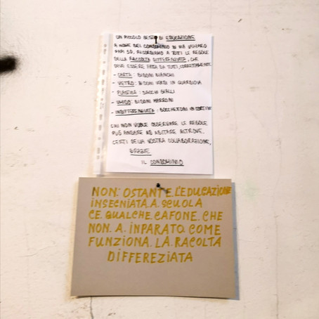 Educazione vs. lingua italiana